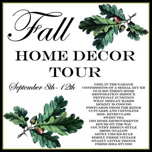 Fall Home Decor Tour Graphic