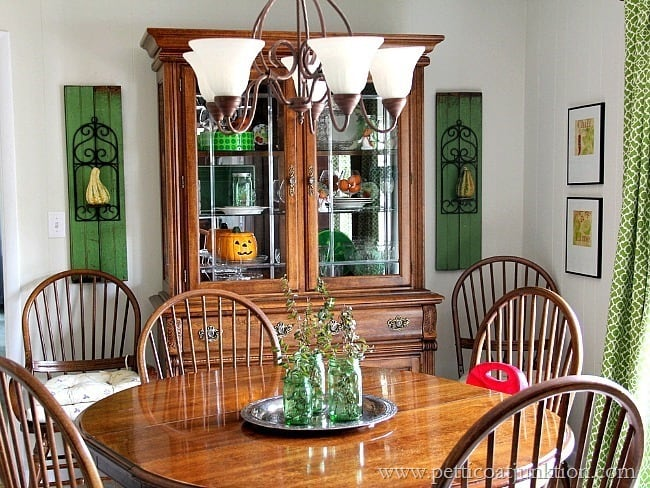 Fall Home Tour Petticoat Junktion Dining Room