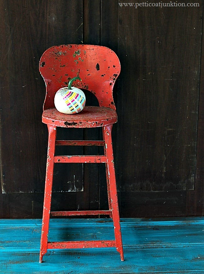 The Pumpkin Takes A Seat Petticoat Junktion