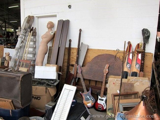 architectural and fun findings Nashville Flea Market Petticoat Junktion