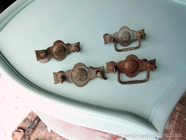 selecting furniture hardware Petticoat Junktion