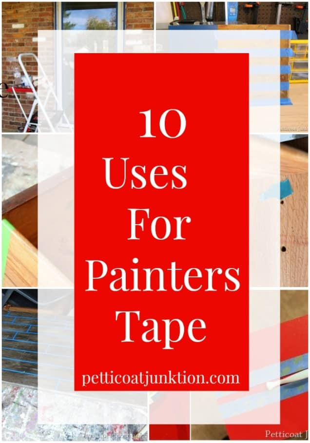 10 Uses For Painters Tape Petticoat Junktion painters tape project ideas