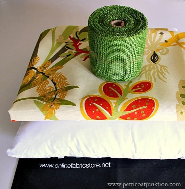 Fabric and pillow form OnLineFabricStore