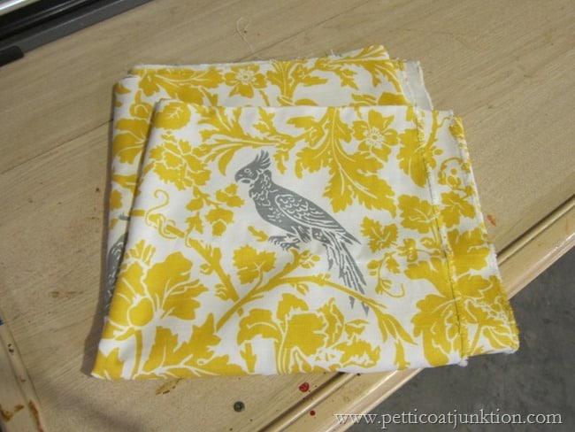 Premier Prints Barber Corn YellowKelp Slub Fabric project Petticoat Junktion