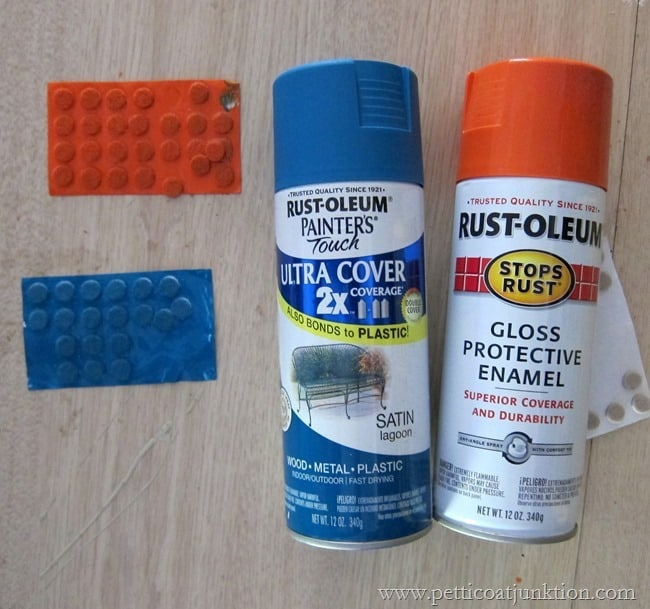Rustoleum spray paint for decorating pumpkins Petticoat Junktion