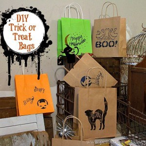Budget Friendly Trick or Treat Bags