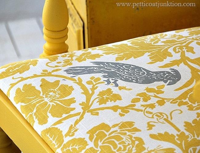 cockatiel fabric seat cover Petticoat Junktion