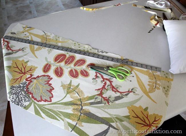 cutting fabric Petticoat Junktion