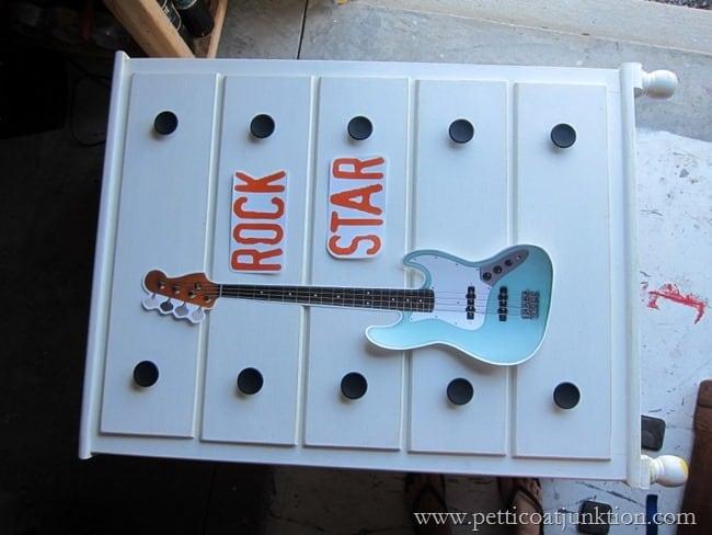 decal decor rock star Petticoat Junktion