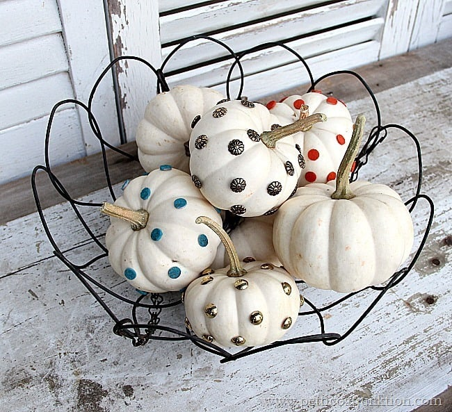 pumpkin decorating ideas Petticoat Junktion
