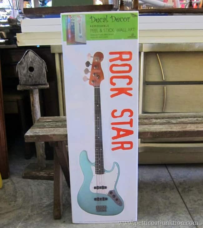 rock star decal Petticoat Junktion