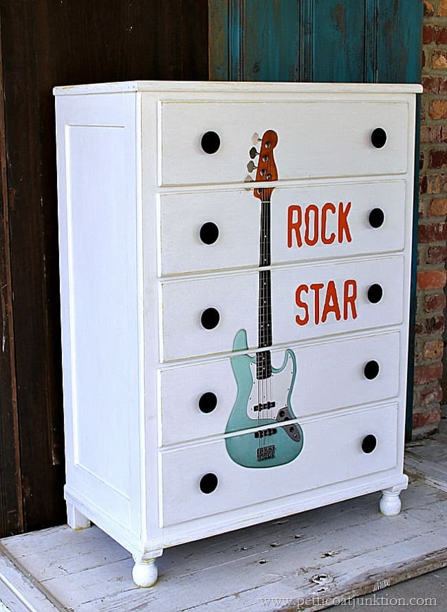 How To Give Furniture The Rock Star Treatment Petticoat