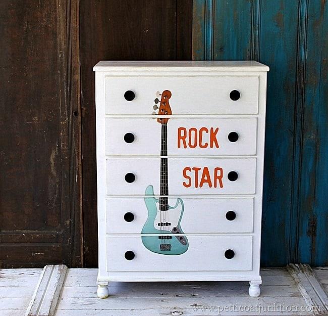 rock star furniture project Petticoat Junktion