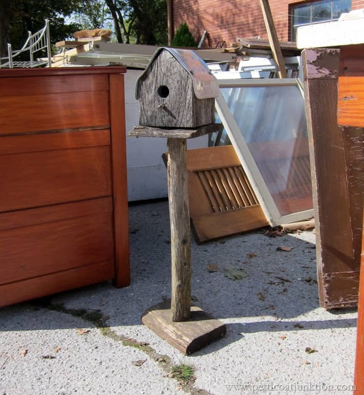 Rustic Barnwood Birdhouse Junk Find Petticoat Junktion