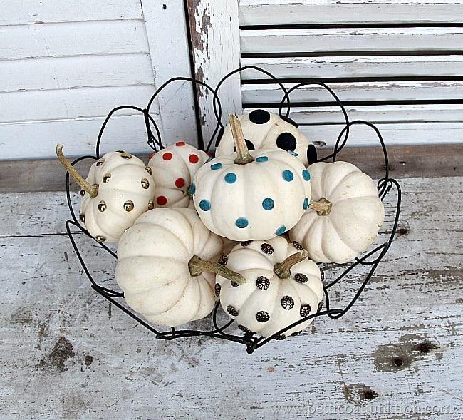 small white pumpkin decorating ideas petticoat junktion