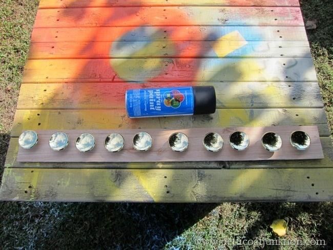 spray painting hardware Petticoat Junktion