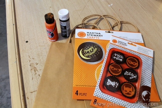 trick or treat bags project Petticoat Junktion