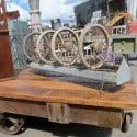 industrial cart Nashville Flea Market