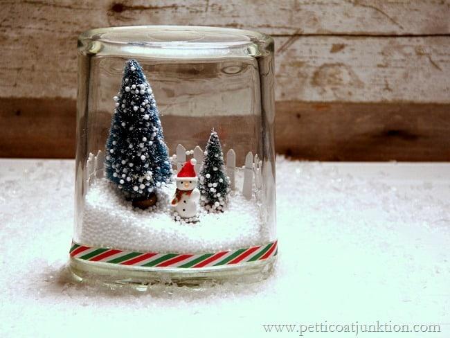 Christmas Tree With Snow Machine
