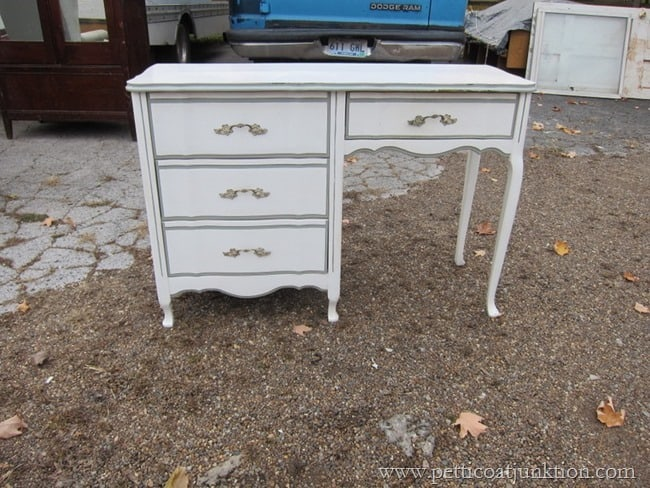 french provincial desk Petticoat Junktion shopping trip