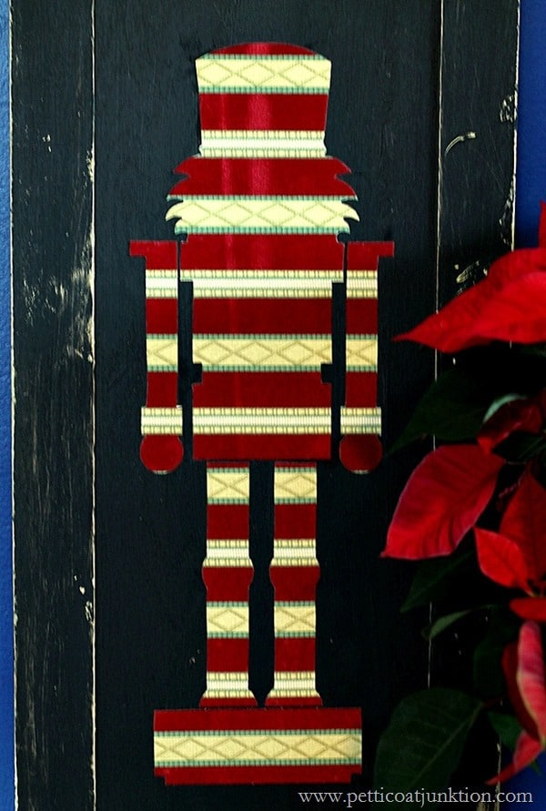 Christmas Nutcracker diy project Petticoat Junktion