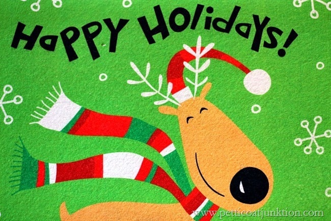 Happy Holidays Rug Petticoat Junktion
