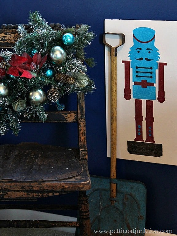 The Christmas Nutcracker Colorful Stencil Project