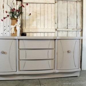 Curved Doors & Hidden Drawers   Vintage