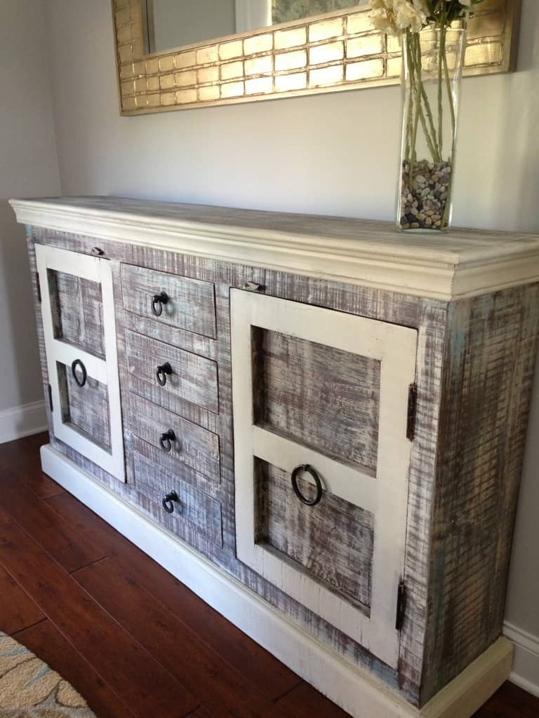 Rustic Buffet Over The Top Furniture Makeovers