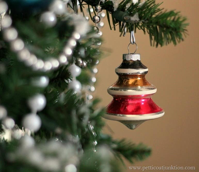 Shiny Brite Christmas Tree Ornament