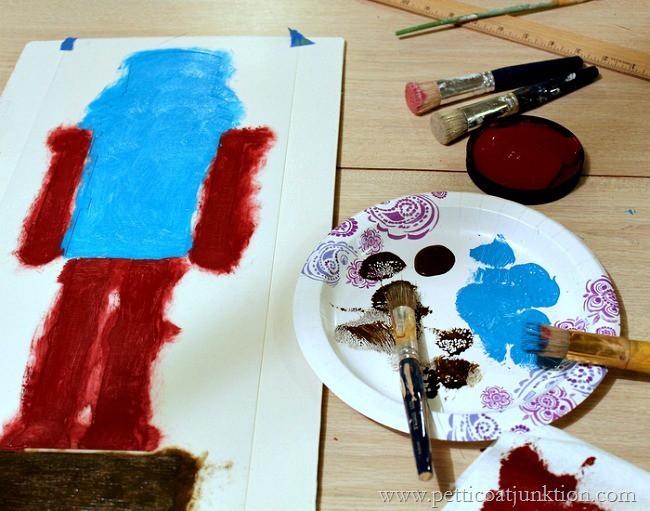 stencil project Petticoat Junktion