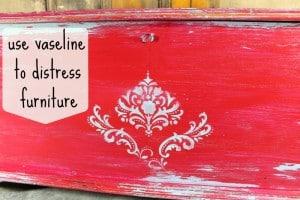 Vaseline distressed furniture Petticoat Junktion
