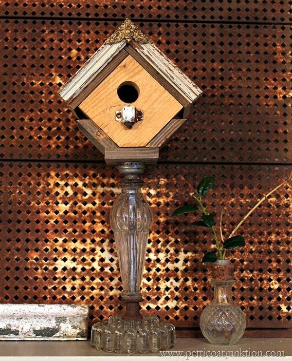 Decorative Birdhouse Tutorial Petticoat Junktion project