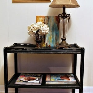Distressing Painted Furniture Is Easy