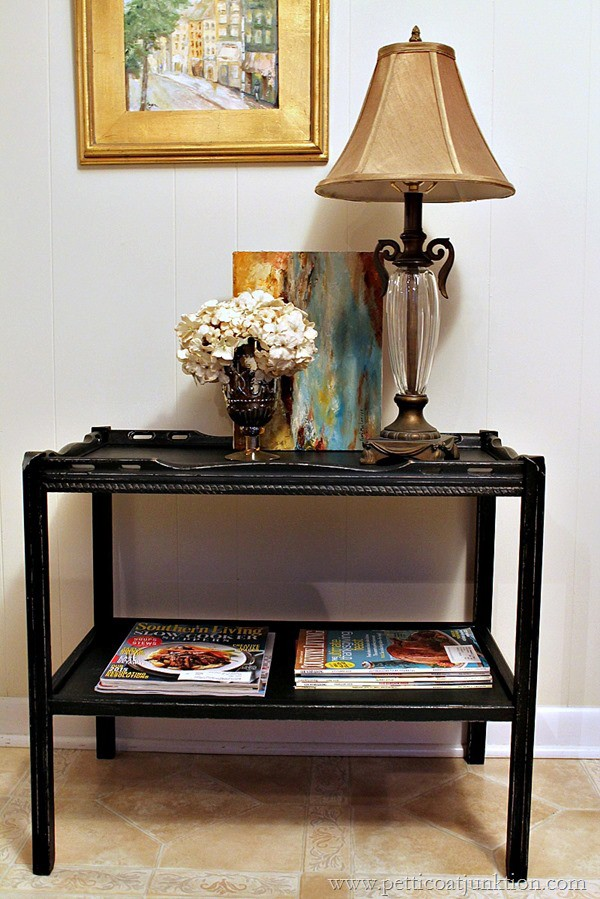 Distressing painted furniture is easy Petticoat Junktion