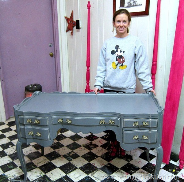 French Provincial Petticoat Junktion furniture painting workshop