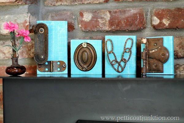 Love DIY Sign Junk Project Petticoat Junktion