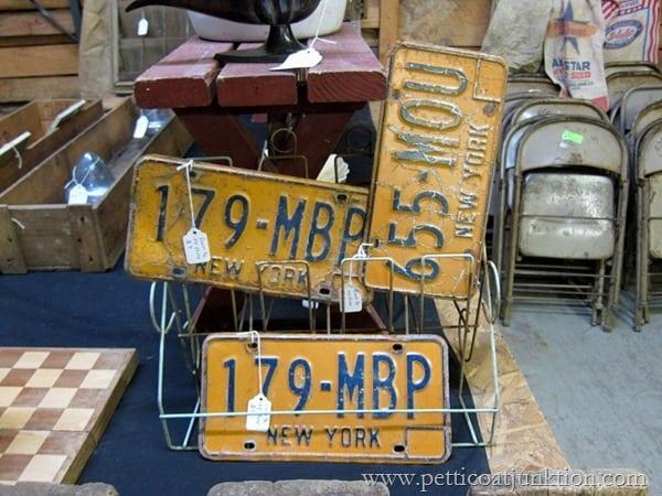 New York License Plates Petticoat Junktion