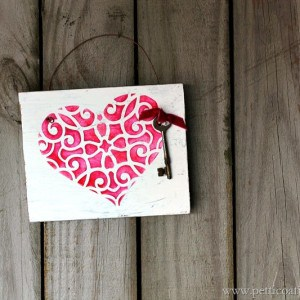 How To Stencil a Heart