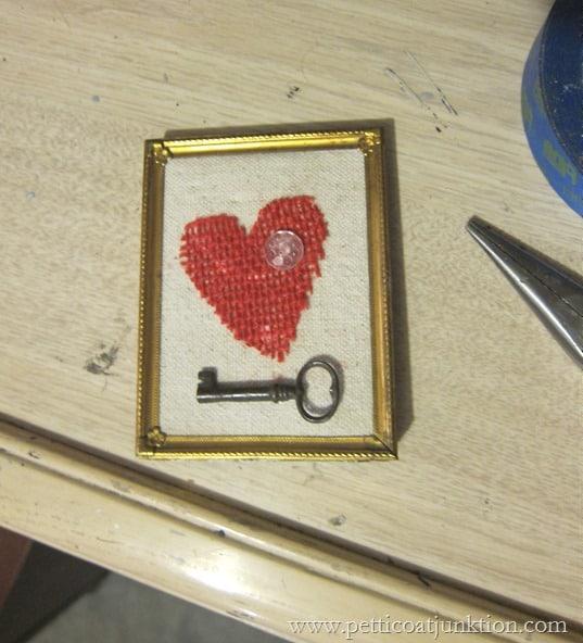 Valentine heart project Petticoat Junktion