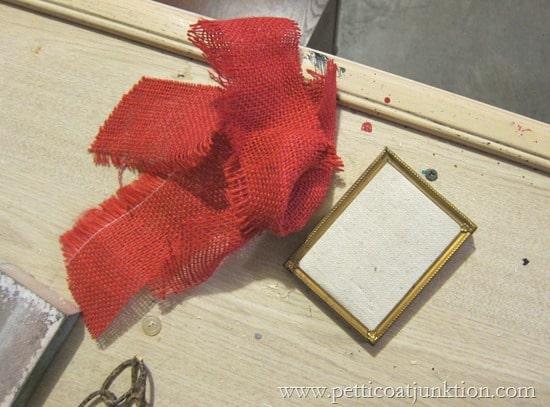 burlap project Petticoat Junktion