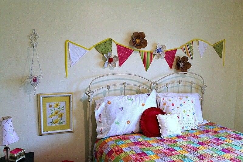 Girls Bedroom DIY Decor Ideas - Petticoat Junktion