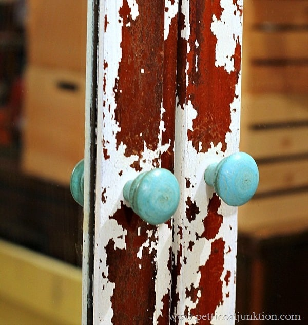 knobs from Hobby Lobby Petticoat Junktion paint project