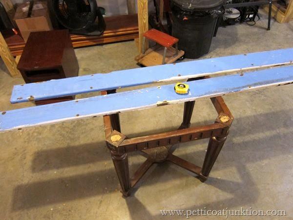 recaimed wood parts Petticoat Junktion