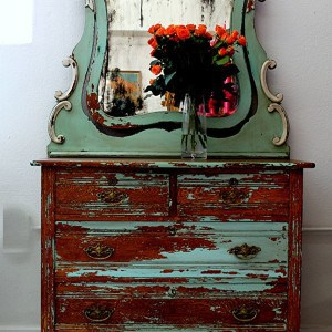 Rustic Shabby Dresser |Over The Top Furniture Makeovers