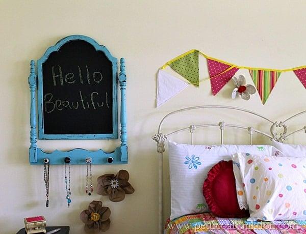 girls bedroom diy decor ideas