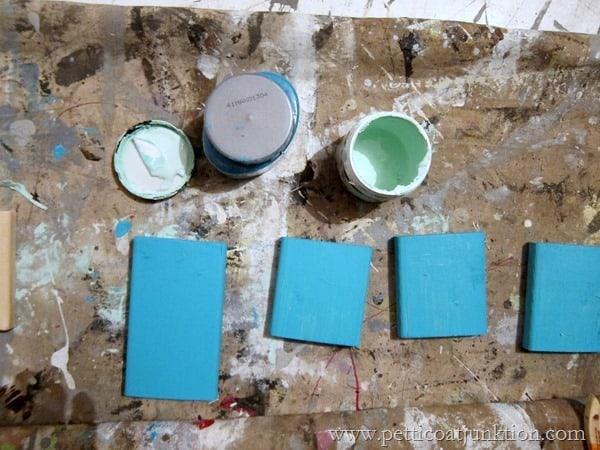 turquoise paints Petticoat Junktion