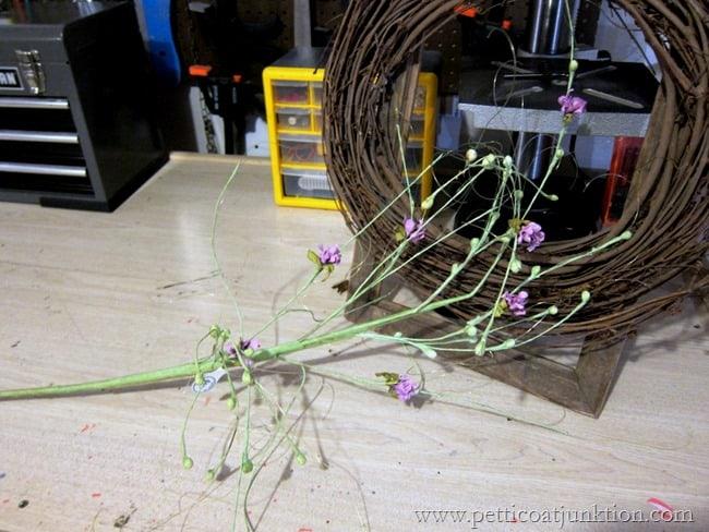 Hobby Lobby flower stem Petticoat Junktion