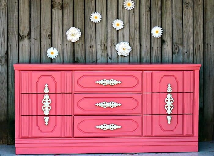 Painted Nursery Furniture With White Hardware
