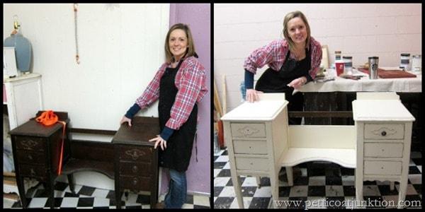 Rachels Project for Petticoat Junktion furniture workshop